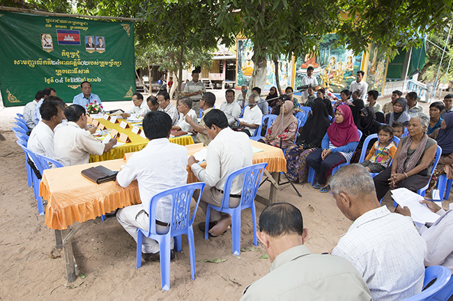 Pursat's municipal council now holds its meetings closer to where citizens live.