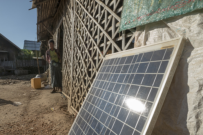 Villagers across the Dry Zone have gained access to affordable, clean energy with Pact's help.