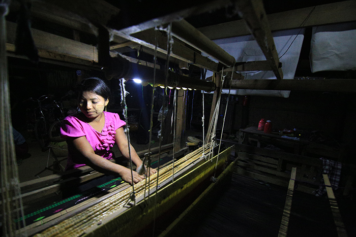 Small business owners in Myanmar are now able to make productive use of their evenings.