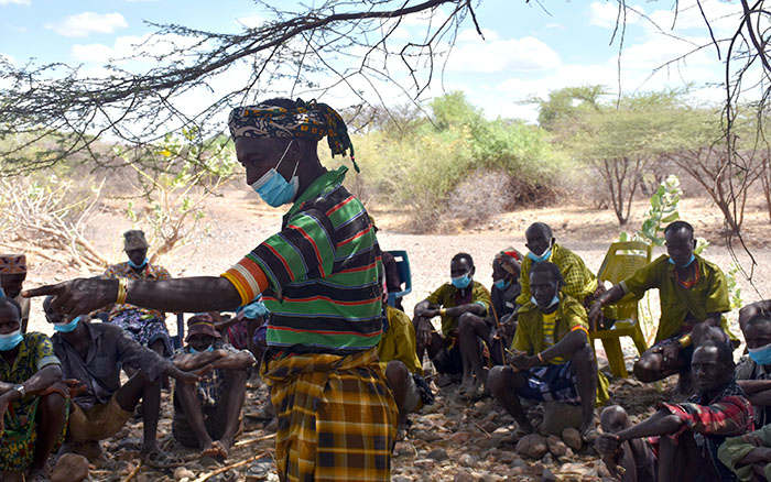 Inter-communal dialogues, such as between the Dassenach and Hamer communities on resource sharing, are effective at preventing potentially catastrophic conflicts. (Credit: SND/SEEK)