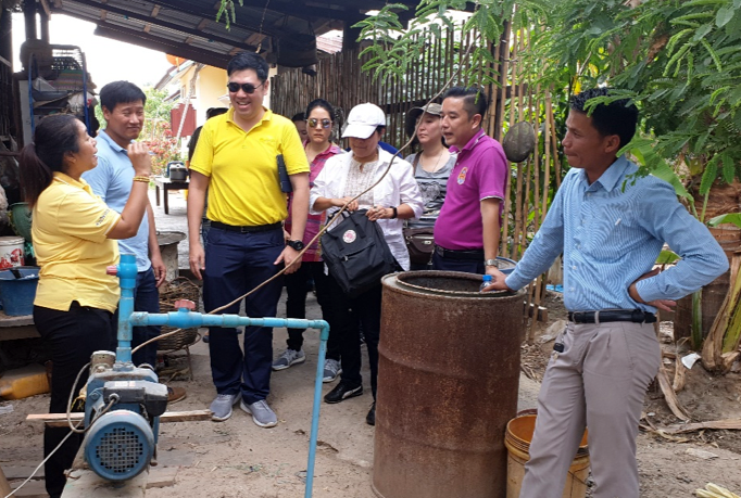 In April, experts from the Thailand Department of Groundwater Resources, along with staff from the Lao Department of Water Resources and Pact, visited Savannakhet Province to identify key issues around local groundwater development.
