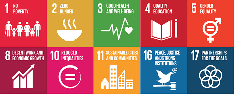 Pact's WORTH program contributes to nine of the Sustainable Development Goals.