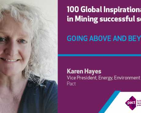 Karen Hayes selected 100 Global Inspirational Women in Mining 2020
