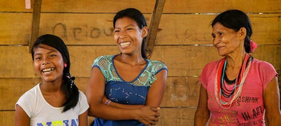 Local women in Colombia