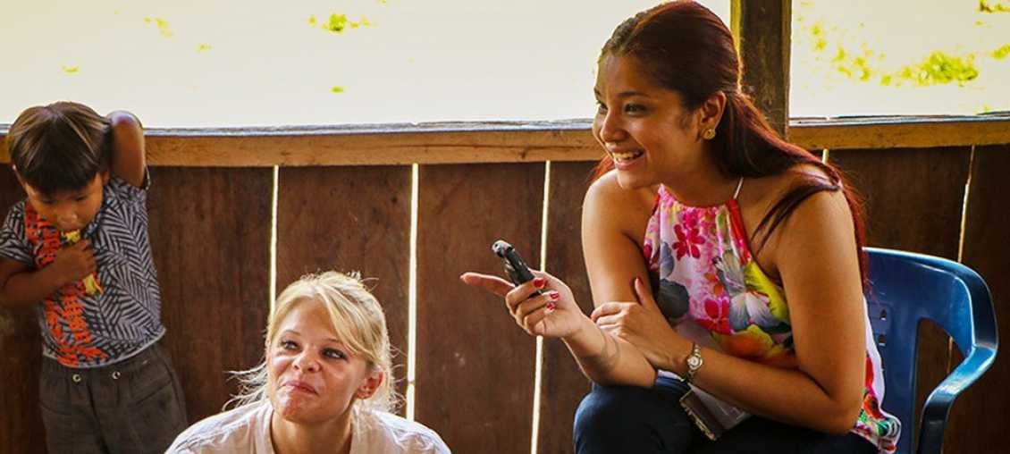 During a recent trip to Colombia, Michelle Risigner used human-centered design as part of Pact's Somos Tesoro project.