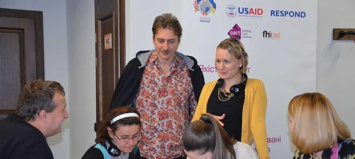 Social entrepreneur training in Ukraine