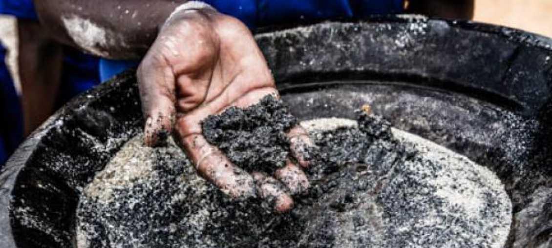 Mining in Rwanda