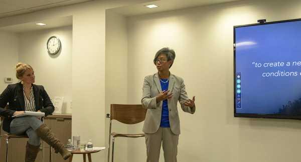 Ann Mei Chang speaks Jan. 22 at Pact.