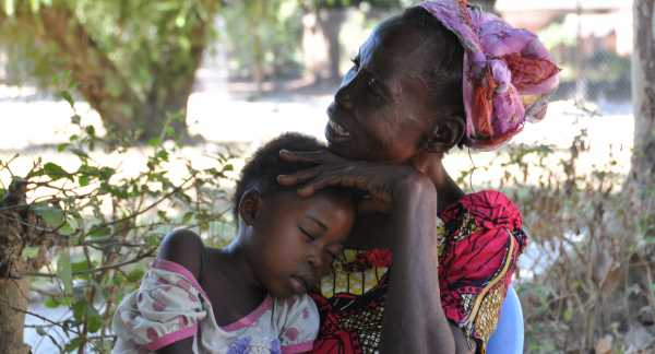 Mother and child in Katanga, DRC