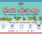 The Health Alert App is now being promoted across Eswatini to combat misinformation about Covid-19 and vaccines.