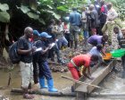 A qualification and validation team visits a mine site in the Mapimo area.