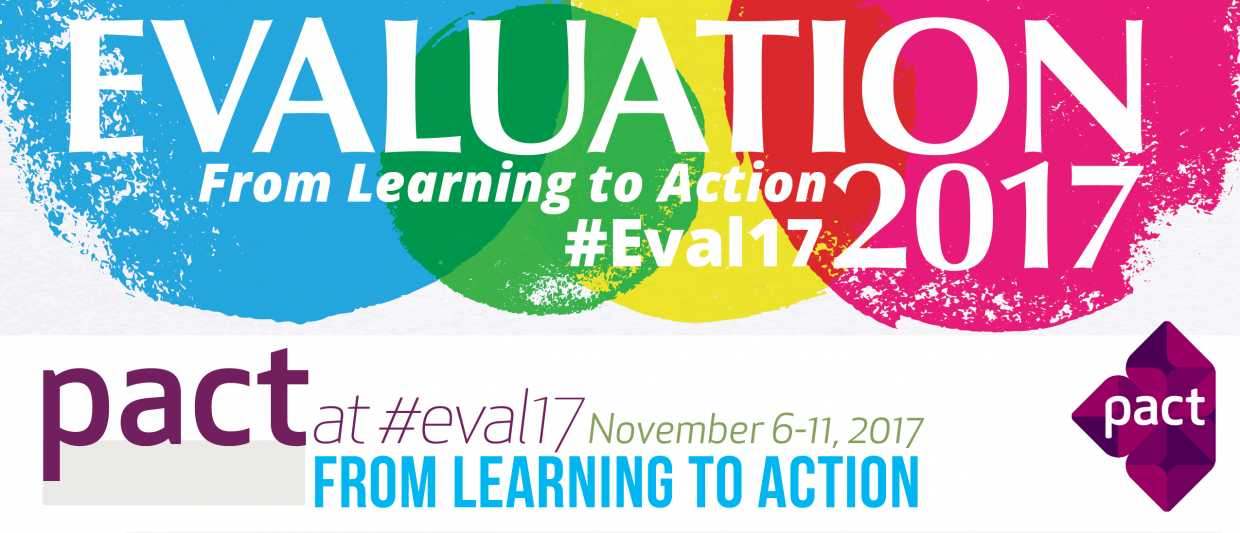 American Evaluation Association Conference 2017