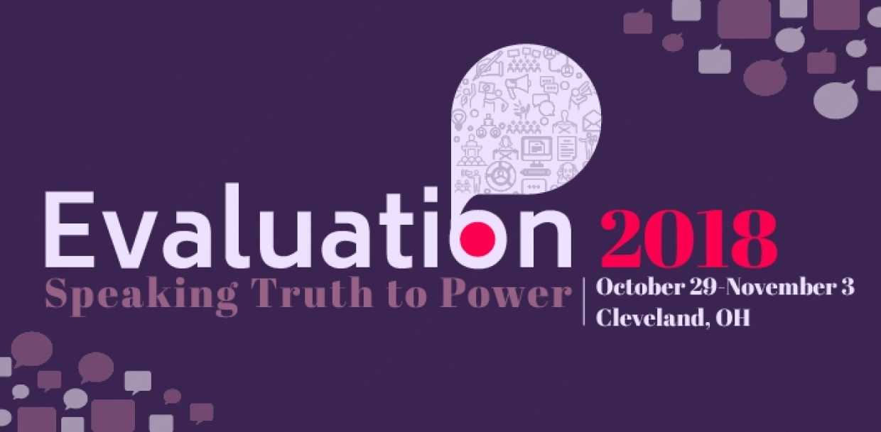American Evaluation Association Conference 2018