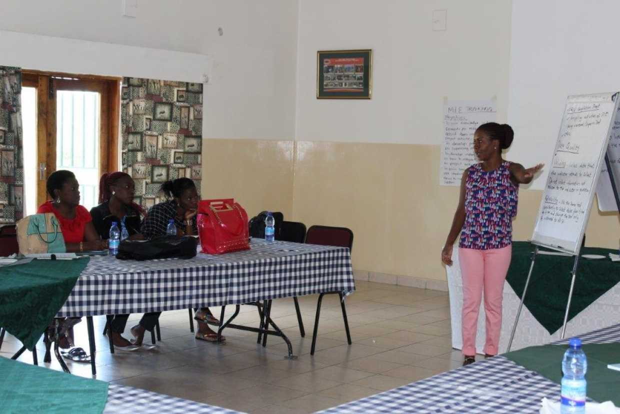 M&E training in Malawi