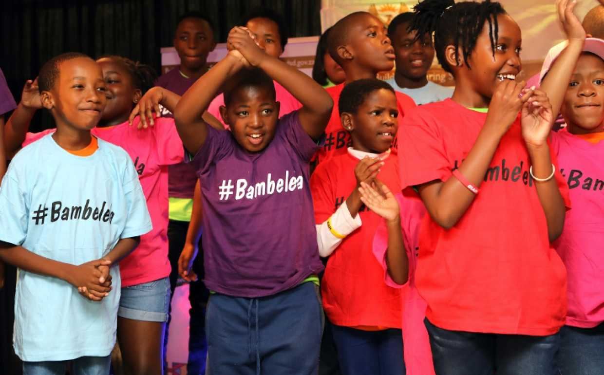 Children take part in a ChommY launch event. (Photo: Pact)