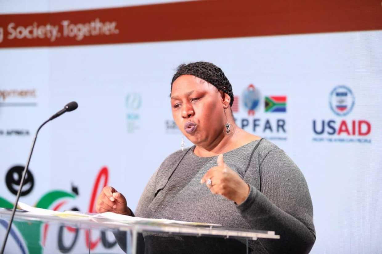 DSD Deputy Minister Hendrietta Bogopane-Zulu. (Photo: Pact)