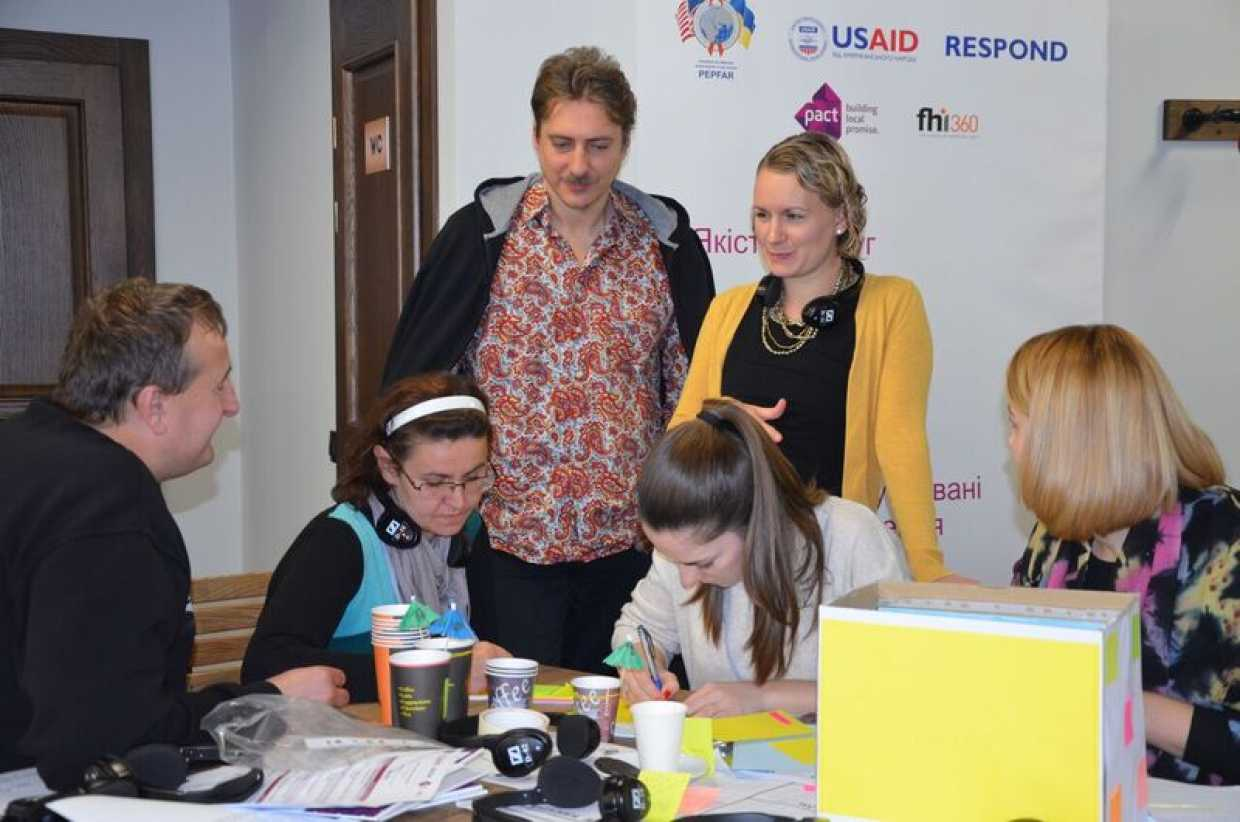 Social entrepreneur training in Ukraine