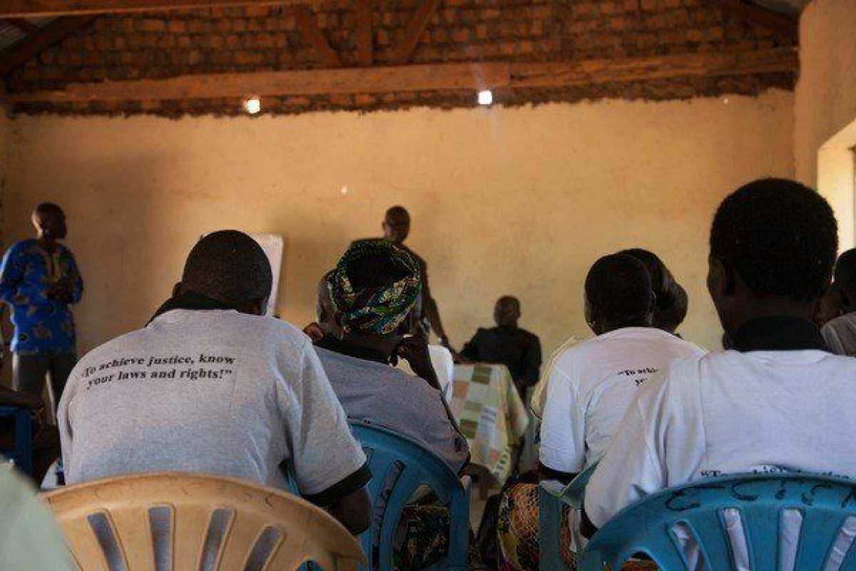 Access to Justice community meeting