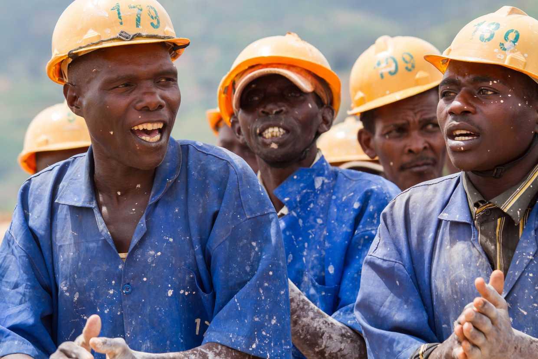 Rwandan miners
