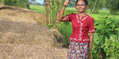 Daw Kyi Htay is a PGMF client in Myanmar. (Photo: Aung Ba Thu/PGMF)