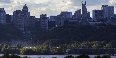 The Kiev skyline in Ukraine, where Pact and its partners have worked for nearly a decade to build democracy and government accountability. (Photo: Brian Clark/Pact)