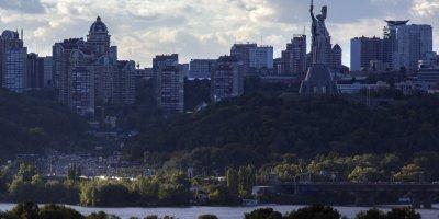 The Kiev skyline from afar. (Photo: Brian Clark/Pact)