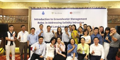 Participants at a three-day SIP training event in Viet Nam in September.