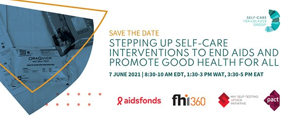 Webinar on self-care interventions of end AIDS