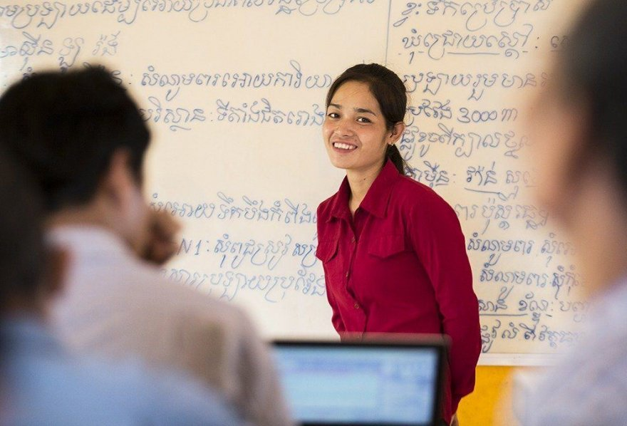 Armed with knowledge, a 'citizen leader' in Cambodia makes a difference