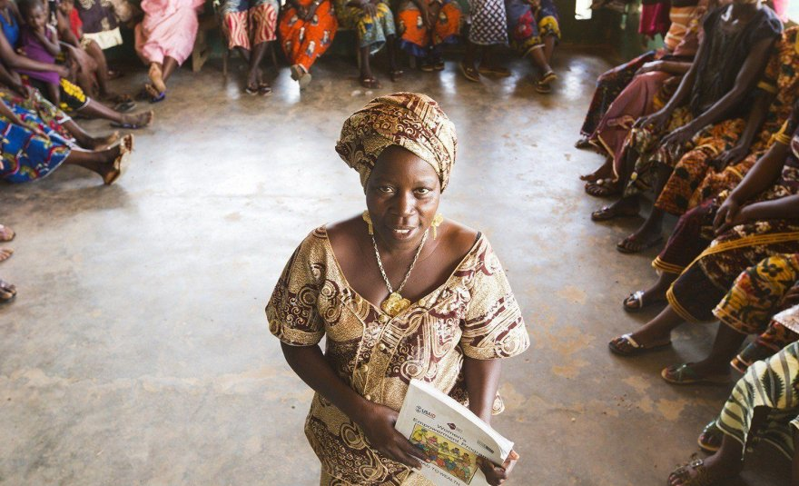 In Liberia, WORTH groups share their success with less fortunate neighbors