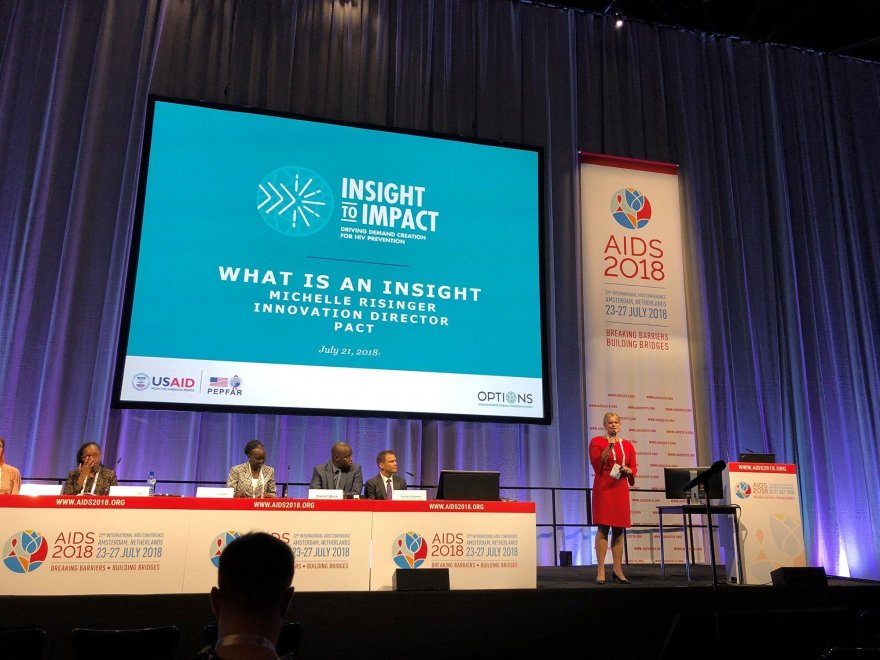 Why customer insight is crucial in the fight against HIV: What I shared at AIDS 2018