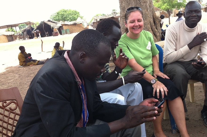 In South Sudan, mobile data flows despite rain