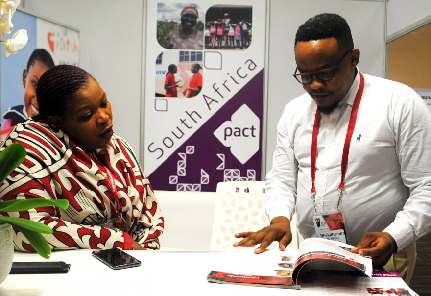 Pact shares insight into vulnerable children and HIV at SA AIDS 2019