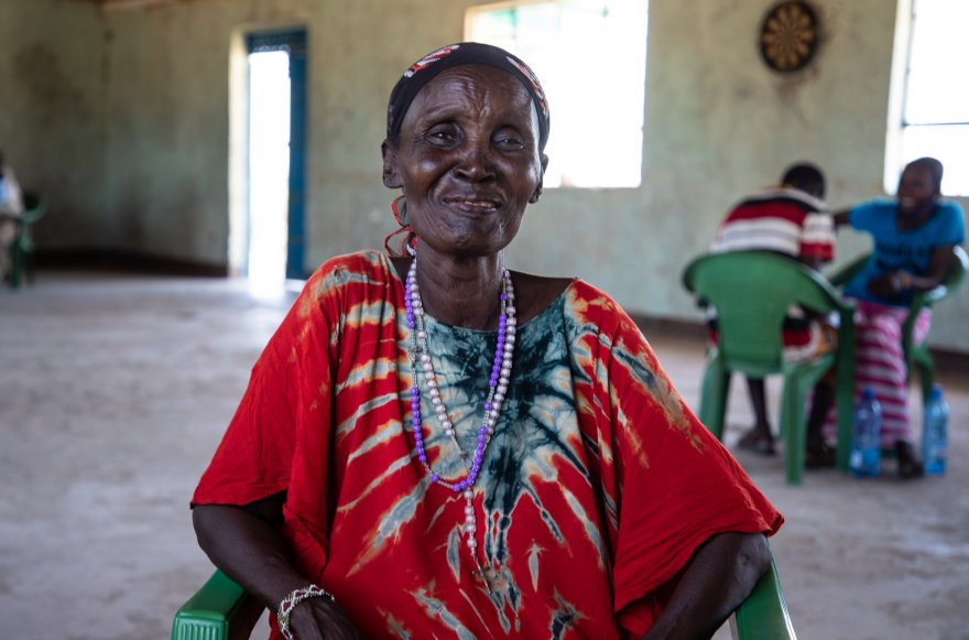 """Peace is an action of transformed thinking"": A community change agent in Kenya makes peace her life's work"