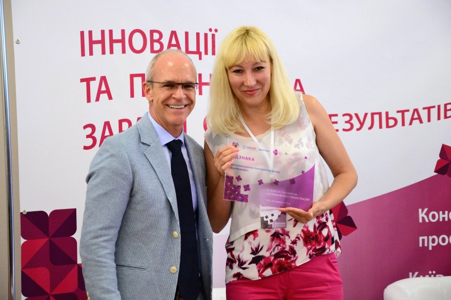 Through capacity development, a once-small Ukrainian NGO leads in HIV services