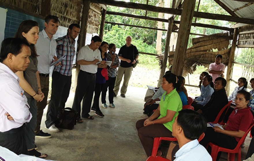 Helping marginalized groups raise their collective voice in Cambodia