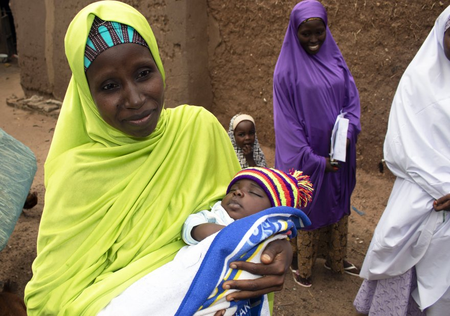 'Had I known, I would have saved my babies': A mother in Nigeria takes control of her family's health