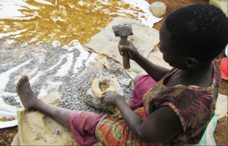 The economic contributions of artisanal and small-scale mining in Kenya: Gold and gemstones