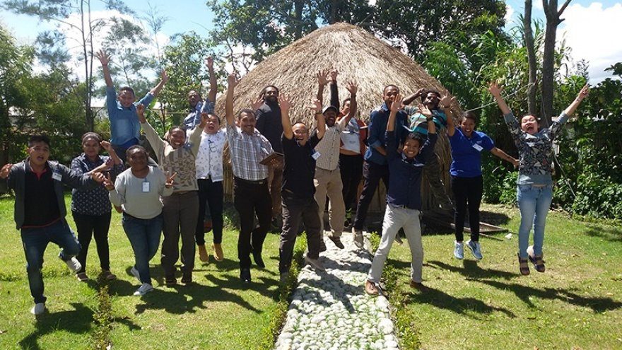 Building organizational capacity across the continuum of care in Indonesia