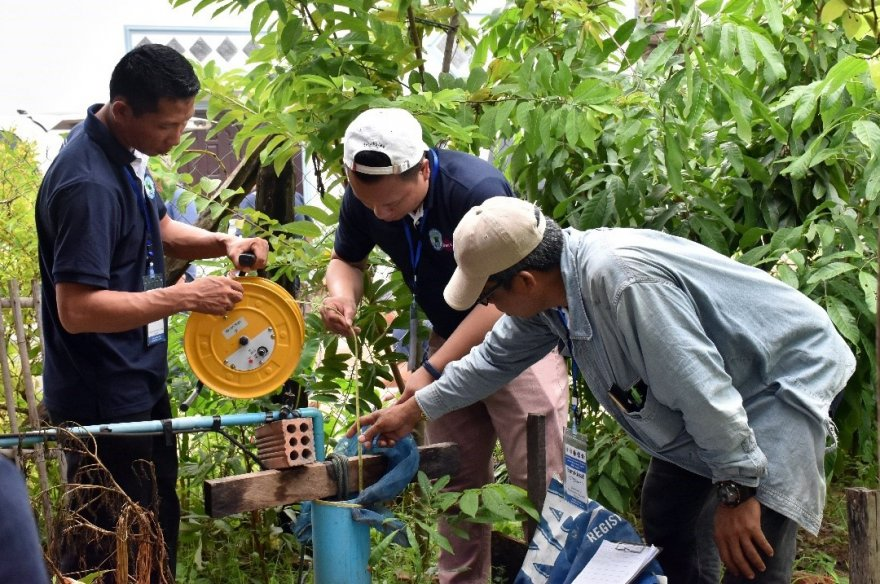 In Lao PDR, managing crucial groundwater resources is an international team effort