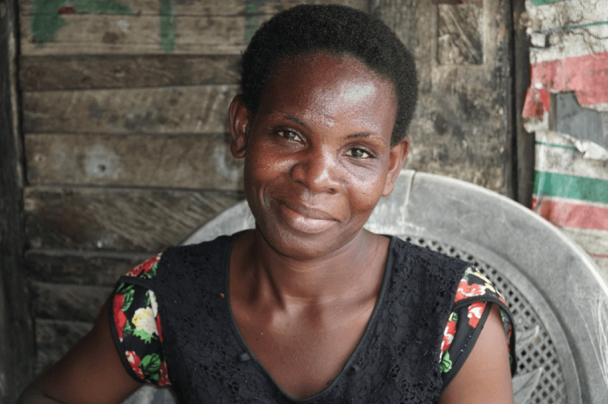 After her husband's death, WORTH becomes a lifeline for a mom in Nigeria