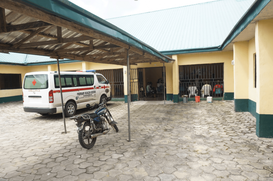 A health center in Nigeria comes back to life