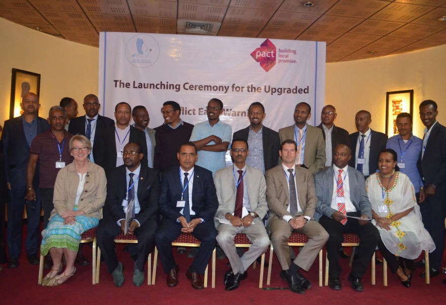 With Pact's support, Ethiopia Ministry of Peace launches new conflict early warning and rapid response system