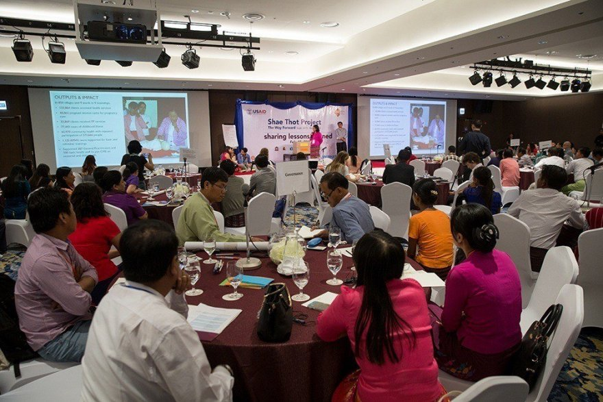 Shae Thot project prepares communities in rural Myanmar to lead the way forward
