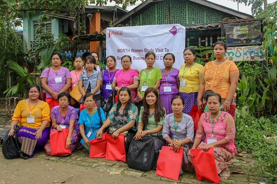 The Coca-Cola Foundation grants US$1 million to Pact Myanmar to support sustainable community development programs