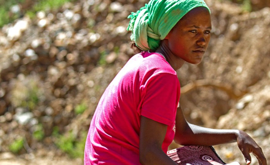With new skills, a young mother in Ethiopia hopes for a brighter future