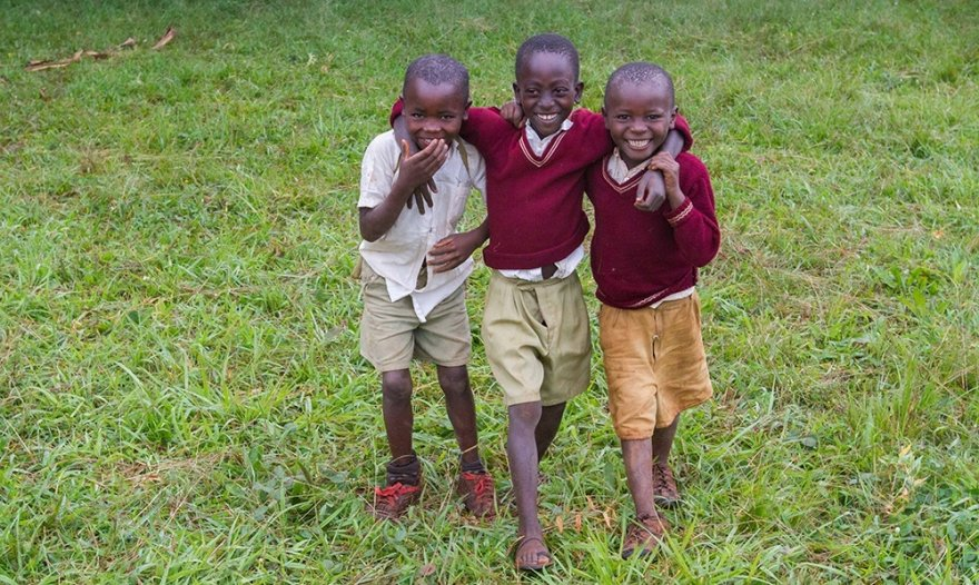 Bonding with a son & helping him grow, in a Tanzanian father's own words