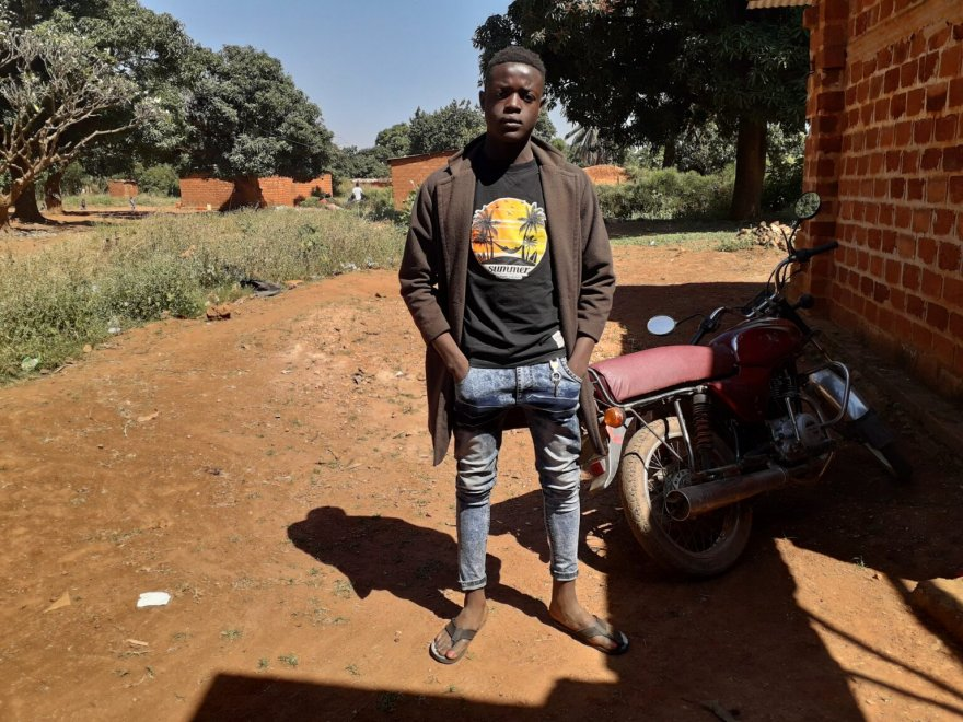"""""""I earn 80,000 [West African CFA francs] (equivalent to USD 40) per day, which enables me to continue to support my family for primary needs: food, health, education of my sister and others,"""" says 17-year-old Koj Ngwej French, a welding apprentice from Tshala, Kolwezi."""