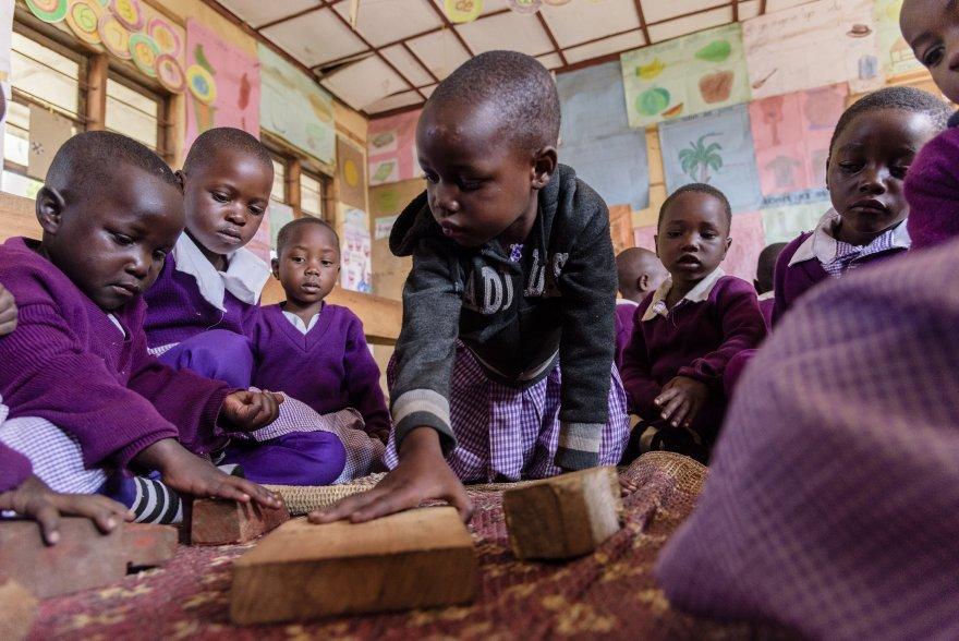 More than 100,000 children received education subsidies through Kizazi Kipya. Credit: Michael Goima/Pact