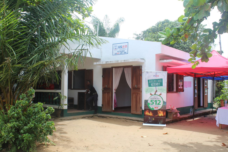 The legal clinic office in Maroantsetra. Credit: AVG.